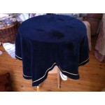 Bridge Cloth Blue Velvet