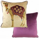 Camel Amethyst cushion cover