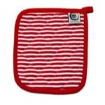 Candy Cane pin stripe pot holder