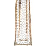 Chatsworth Trellis Net Applique Panel