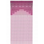 Crochet curtain Fuschia