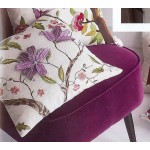 Exotic Blooms Cushion Cover