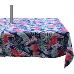Flamingo Tablecloth Zipper