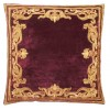 Florence Claret Velvet Cushion cover