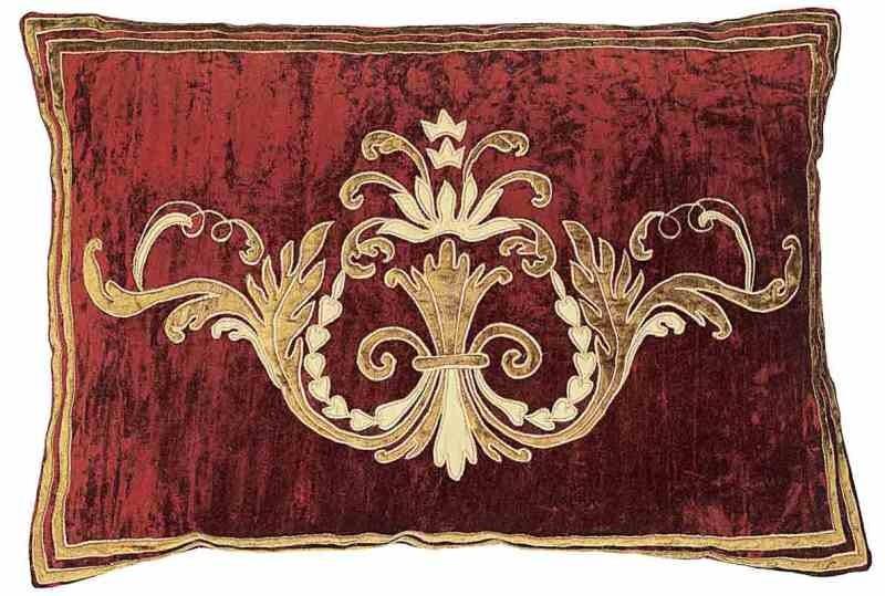 Florence terracotta velvet bed runner