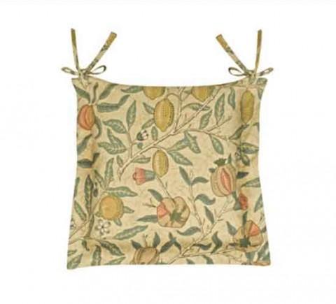 William Morris Fruits Oxford seat pad