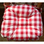 Gingham Red Country Check Chunky