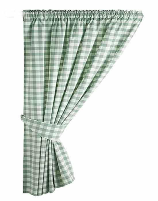 Gingham Kitchen Curtains Uk