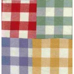 Gingham Blue Country Check napkin