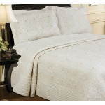 Harvard Cream bedspread
