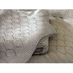 Helmsley Knitted Throw Grey