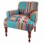 Ikat Patchwork Maharajah chair