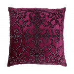 Isobel Fuschia Velvet Cushion Cover