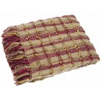 Kelso Throw Burgundy