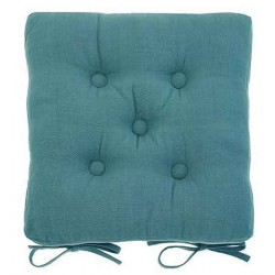 Lagoon buttoned seat pad