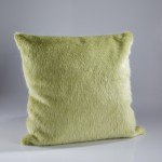 London Willow Faux Fur Cushion