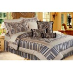 Mexico Black bedspread