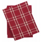 Midwinter check tea towels