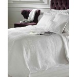 Naples white quilted bedspread sale single
