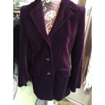 Next wine velvet trouser suit size 12