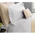 Platinum White Percale 400 Thread Count