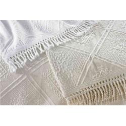 Porto White  bedspread