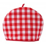 Gingham Red Country Check  tea cosy