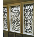 Richmond Net Applique Panel Pewter
