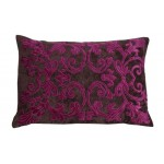 Richmond Fuschia Velvet Cushion Cover Oblong
