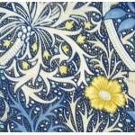 William Morris Seaweed Lined Curtains