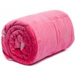 Seraphine Pink Velvet  Throw