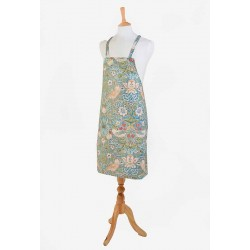 Strawberry Thief Slate Fabric Halter Apron