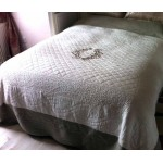Marseilles  ivory quilted bedspread
