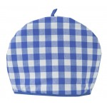 Gingham Blue Country Check Blue tea cosy