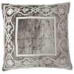 Whitehall Taupe Velvet Cushion Large