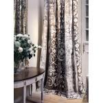 Whitehall Taupe Velvet Curtain Panel
