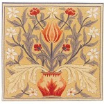 William Morris Tulip Tapestry Cushion