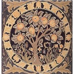 William Morris Orange Tree Tapestry Cushion