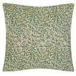 Willow Bough Green Cushion