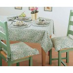 Willow Bough Green PVC tablecloth