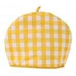 Gingham Yellow Country Check  tea cosy